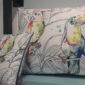 coussin toucan liligraffiti